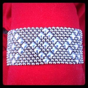 Sergio Gutierrez Liquid Metal Cuff Bracelet